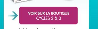 Voir sur la boutique CYCLES 2 & 3