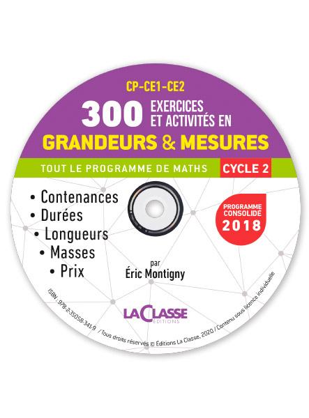 300 Exercices Et Activites En Grandeurs Et Mesures Au Cycle 2 Laclasse Fr