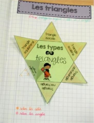 Triangles pop-up