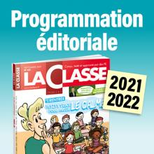 Programmation éditoriale 2021-2022 de la Classe