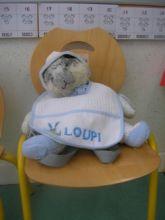 Une mascotte en maternelle